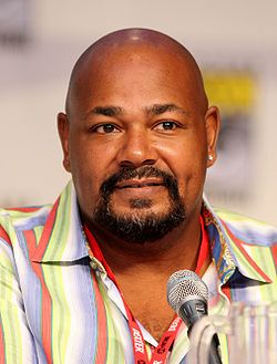 Kevin Michael Richardson (born October 25, 1964) is an American actor and voice actor who provides the voice of Cleveland Brown, Jr. in The Cleveland Show. He is also known for being the voice of Tartarus in the video game Halo 2 and as Robert Hawkins in Static Shock.