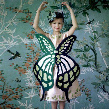 Un déguisement de papillon pour petite fille / A butterfly disguise for little girl