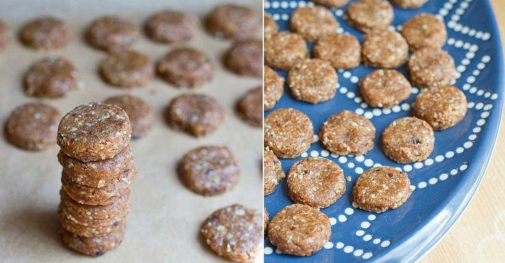 Jemné mandlové koláčky bez rafinovaného cukru