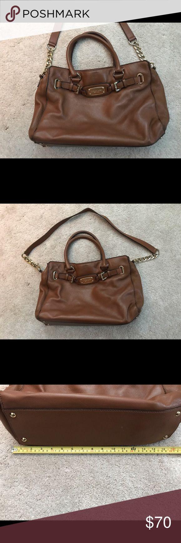 Michael Kors shoulder bag Brown Michael kors handbag with shoulder strap. Great condition, no marks or tears! KORS Michael Kors Bags Shoulder Bags