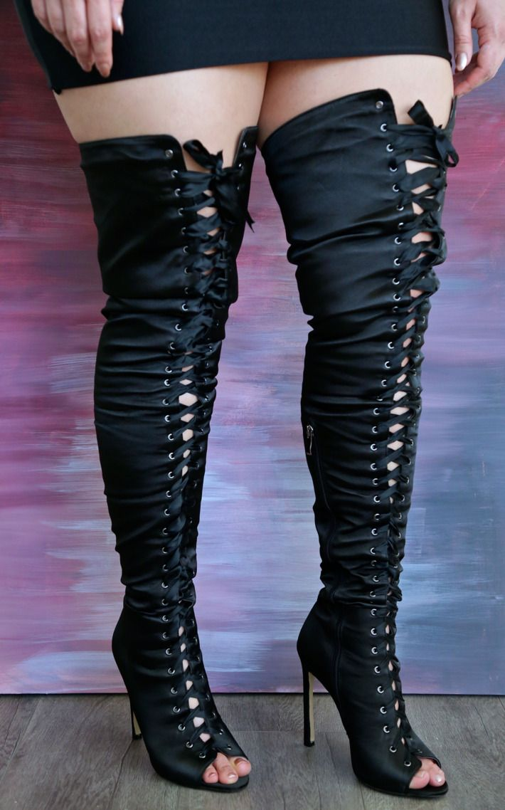 9ee07c3989 5 Thigh High Boots That Will Actually Fit Over Your Legs | boots ...