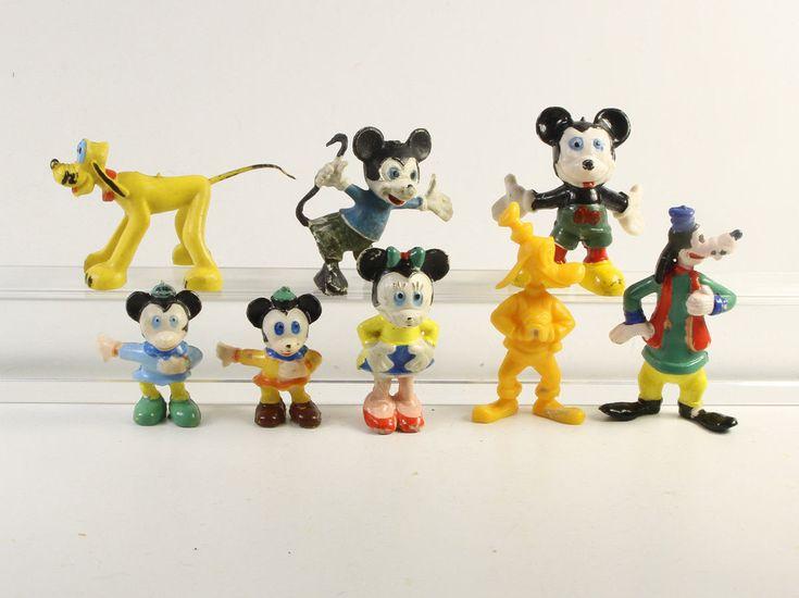 Micky Maus + Donald Duck === Walt Disney 8 Heimo Figuren   eBay