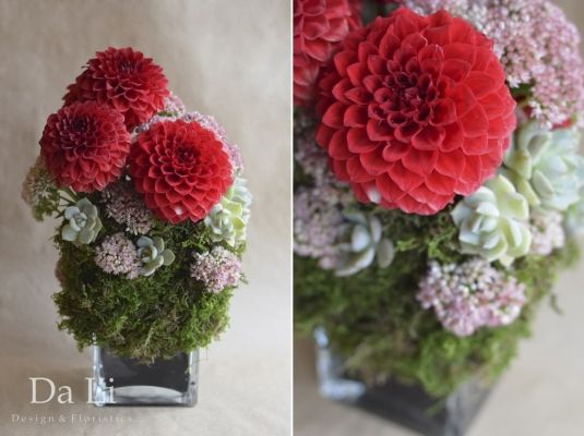 flowers arragement by Da Li Design&Floristics