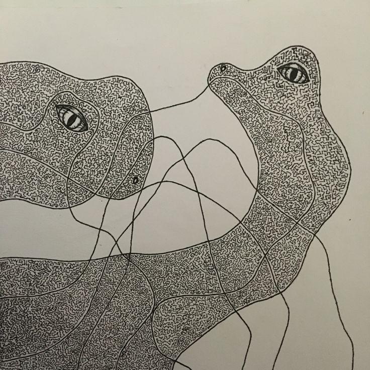Development 2 #line #detail #dinosaurs #blackandwhite