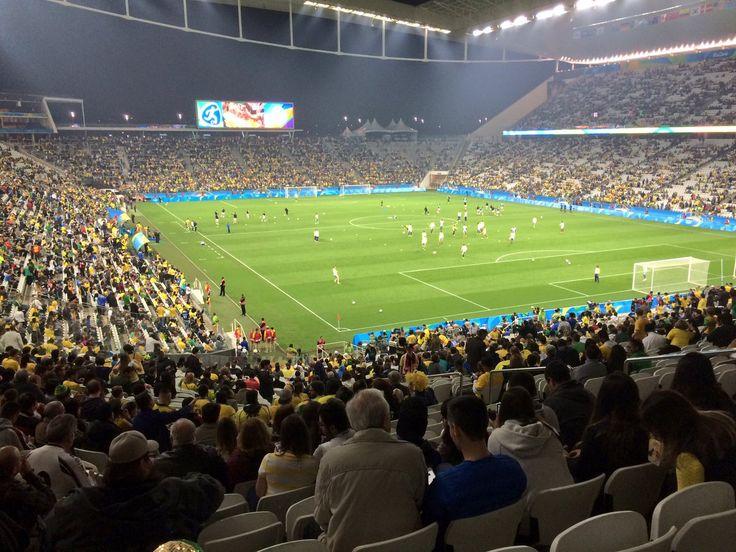 Jogos Olímpicos - Futebol masculino 2016-2016 no globoesporte.com - veja como foi Brasil x Colômbia: escalação, informações sobre o jogo, fotos e muito mais