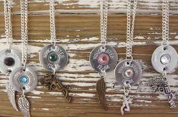 Shotgun shell jewelry country jewelry by SouthernTouchDesigns