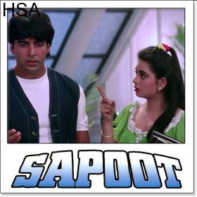 http://hindisingalong.com/kajal-kajal-sapoot.html  Kajal Kajal - Sapoot