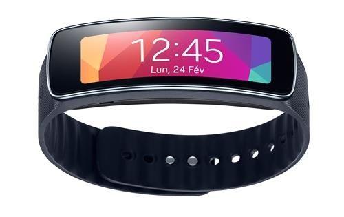 Montre Samsung Gear Fit noir