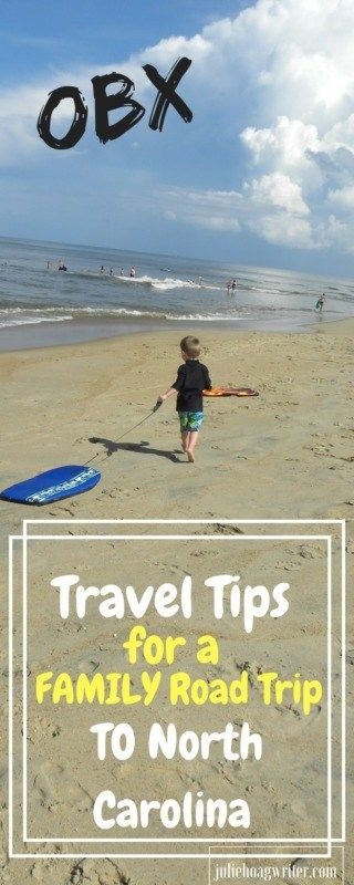 Travel Tips for a Family Road Trip to North Carolina Kitty Hawk OBX rent a Beach house for a fun family travel destination. Visit the outerbanks in North Carolina, kitty hawk, a beach vacation for families. #outerbanks #northcarolina #obx #beachvacation #ustravel #traveltips #travelideas #vacationideas #familytravel #familyvacation #vacay #familyvacay #beachhouse #oceanside #traveltips #travelblog #destination #travelwithkids #juliehoagwriter
