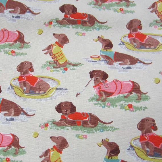 1/2m Cath Kidston. Cotton Upholstery Fabric. by handmadesource
