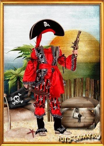 Фоторамки для фотошопа пиратские костюмы