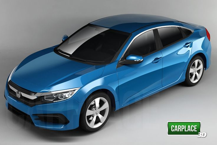 2016 Honda Civic Release Date >> 2016 Honda Civic Rendered From All Angles Report Best Cars