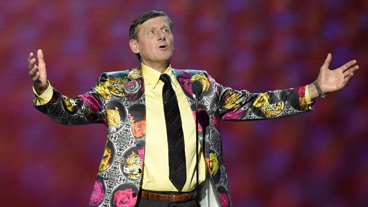 Craig Sager accepts the Jimmy V award for perseverance at the ESPY Awards at the Microsoft Theater on Wednesday, July 13, 2016, in Los Angeles. (Photo by Chris Pizzello/Invision/AP)