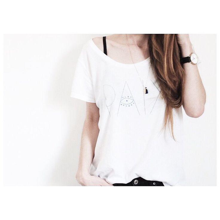 T-Shirt Paix Leï 1984 - SS16 - Photo @mytrendbook