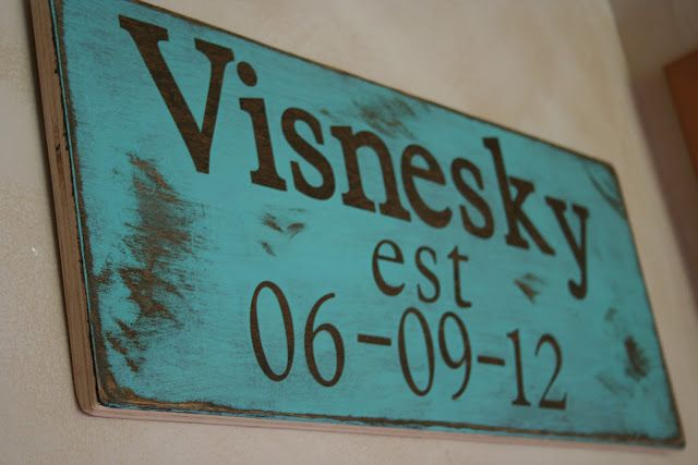 cute sign for anniversary reminder.  Would be nice to have it hanging in the master bedroom.
