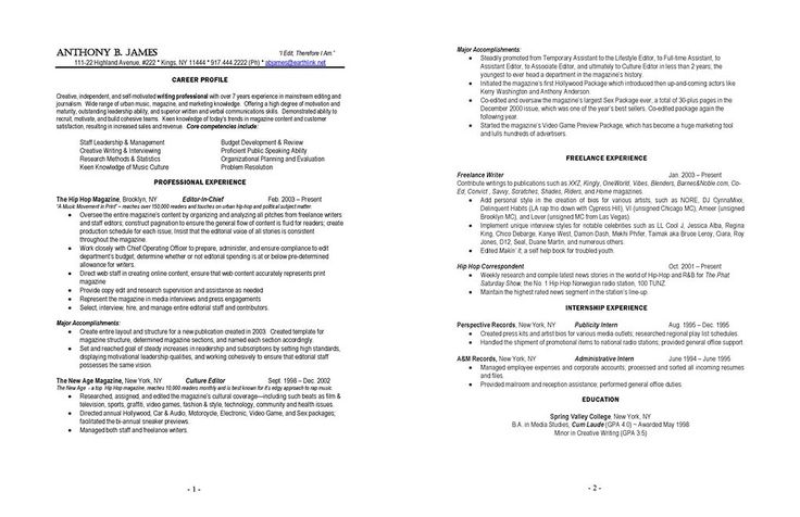 33 best resume images on Pinterest Resume templates, Sample resume - undergraduate sample resume