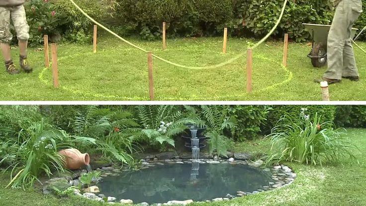 868 best pour le jardin images on pinterest permaculture aquaponics system and conservatory - Faire une mare dans son jardin ...