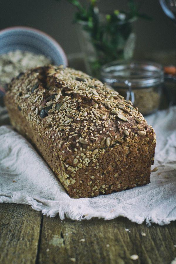 Najprostszy pełnoziarnisty chleb na zakwasie