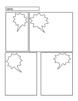 Comic lesson strip