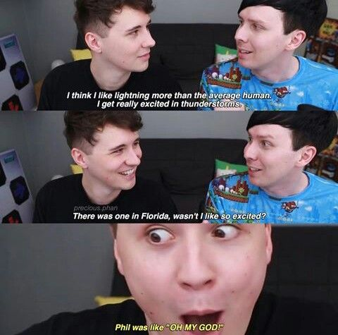 """We got to see Dan curling Phils hair, see them playing with Catrifics dog and a whole bunch of other stuff..this month of June has been truly great #blessed""""#phan2017 #lol"""