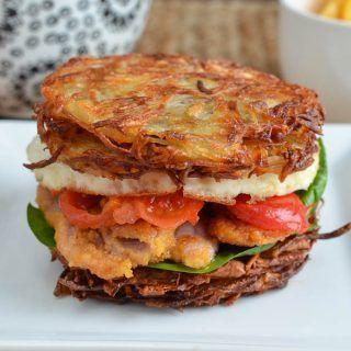 Syn Free Hash Brown Breakfast Sandwich