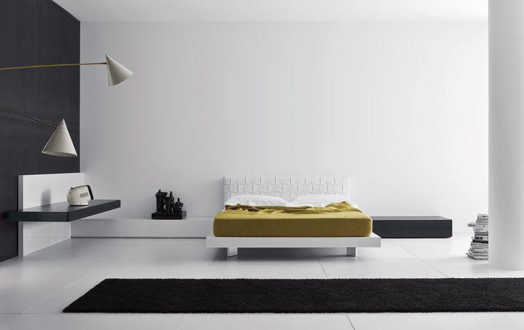 Letti e comodini | modello Intreccio | Pianca design made in italy