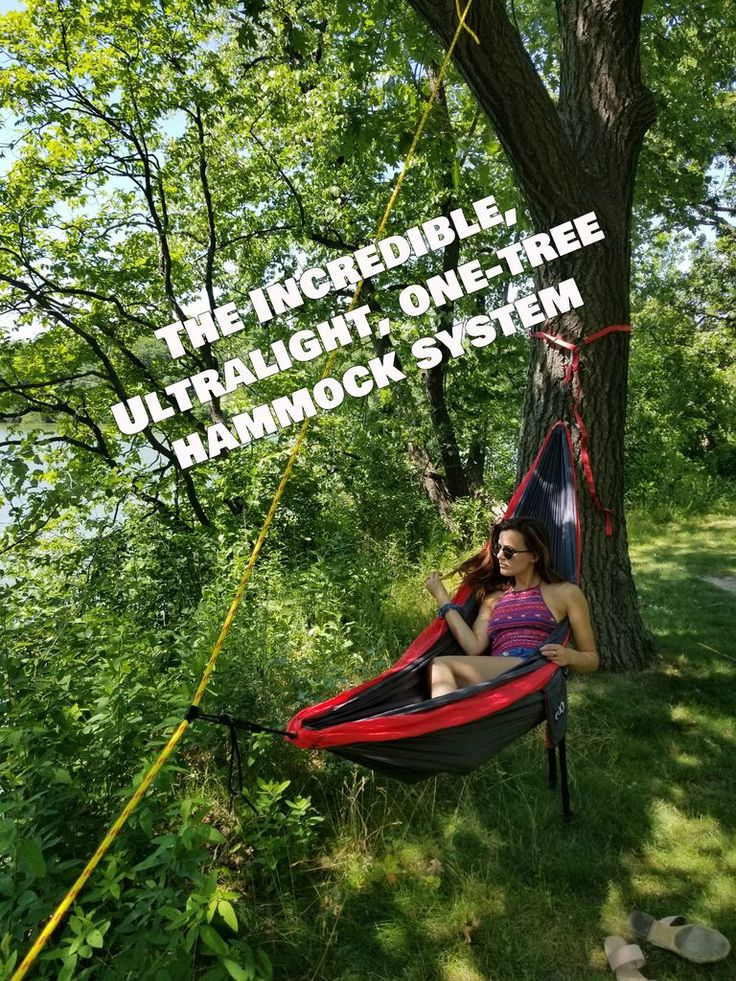 One-Tree Hammock System, Ultralight: 6 Steps (with Pictures)