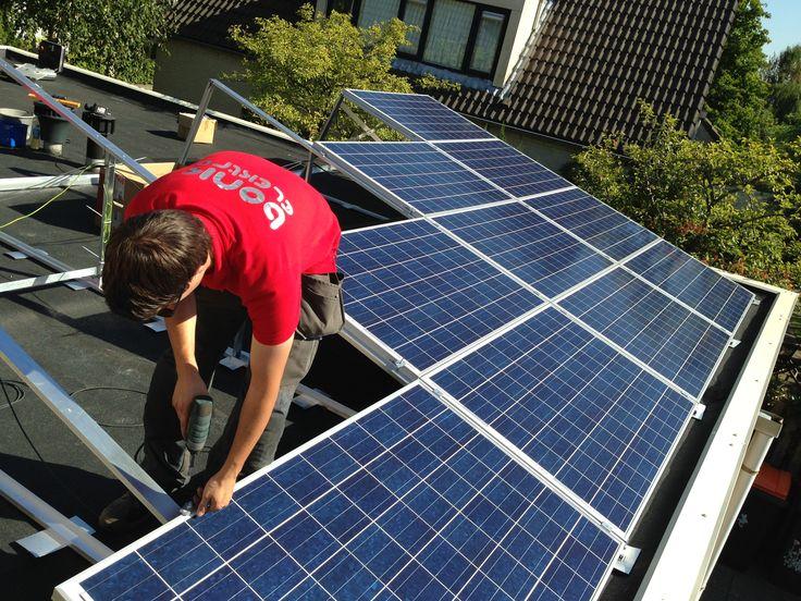 Zonneschans met zonnepanelen in Deventer