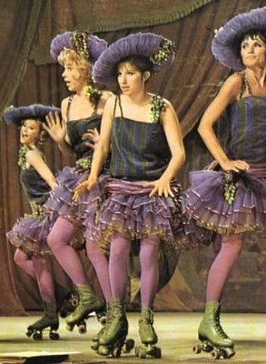 I am the proud conservator of this costume. Had to find purple tights and vintage skates (and have them dyed) but it's otherwise intact Thanks Debbie Reynolds!