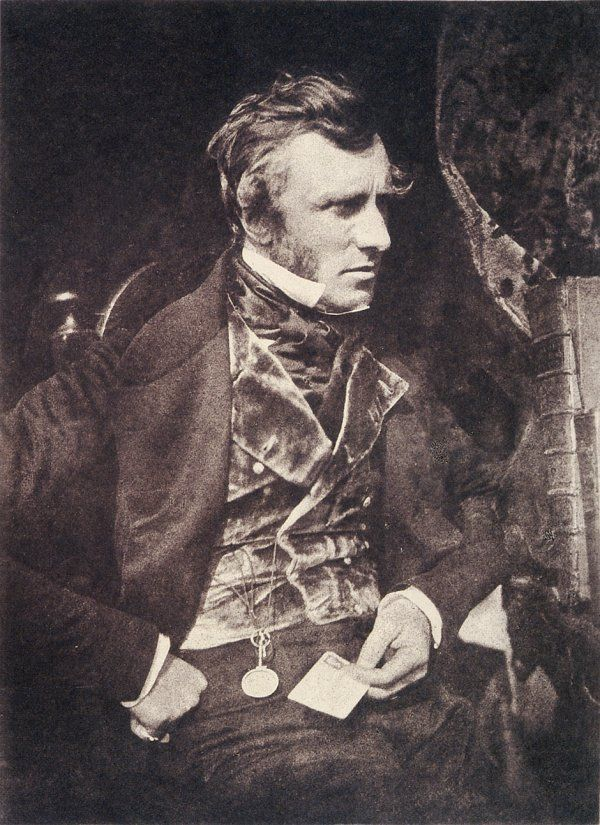 Calotype by David Octavius Hill & Robert Adamson, c.1845.