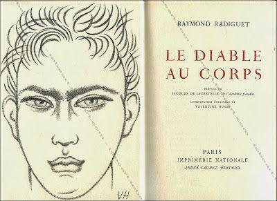 Le blog de Marie Aimée Carteron : La Liseuse: Le diable au corps, Raymond Radiguet