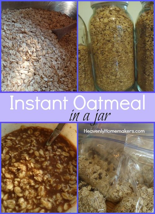 Make your own Instant Oatmeal Packets - and learn to make a bowl of oatmeal without the microwave!