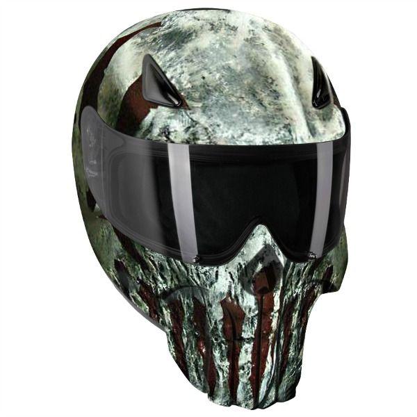 punisher modular motorcycle helmet 3