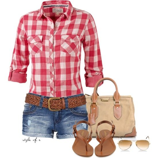 Very cute outfit for outdoor casual pics.  Wearing sunglasses for a few photos adds some spunk as well!