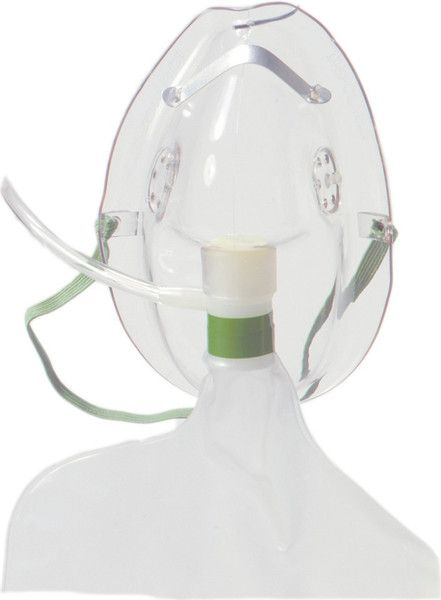 Non-Rebreather Oxygen Mask Non-Rebreather Oxygen Mask from PRO2Medical.com features asoft disposable material with low resistance check valve to prevent rebrea