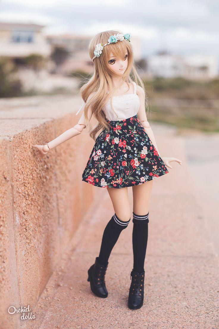 Coco (Dollfie Dream Sister Miki Hoshii) http://orchiddolls.wordpress.com/ #fashion #doll