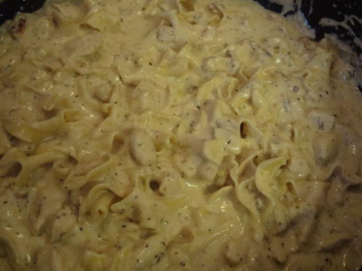 Macoroni Grill Chicken Alfredo