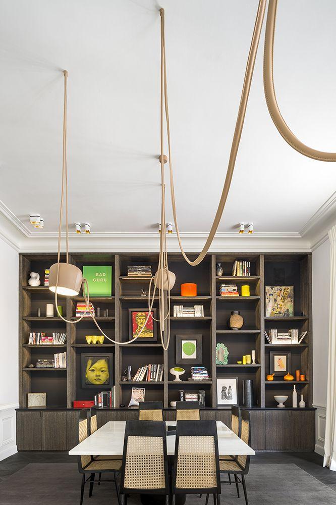 Découvrez Charles Zana | Apartment Ranelagh #design #renovation #paris #deco