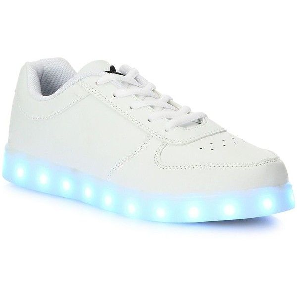 Wize & Ope LED 2016 Light Low Top Sneakers (1 575 ZAR) ❤ liked on Polyvore featuring men's fashion, men's shoes, men's sneakers, shoes, apparel & accessories, mens lace up shoes, mens low profile sneakers and mens low profile shoes