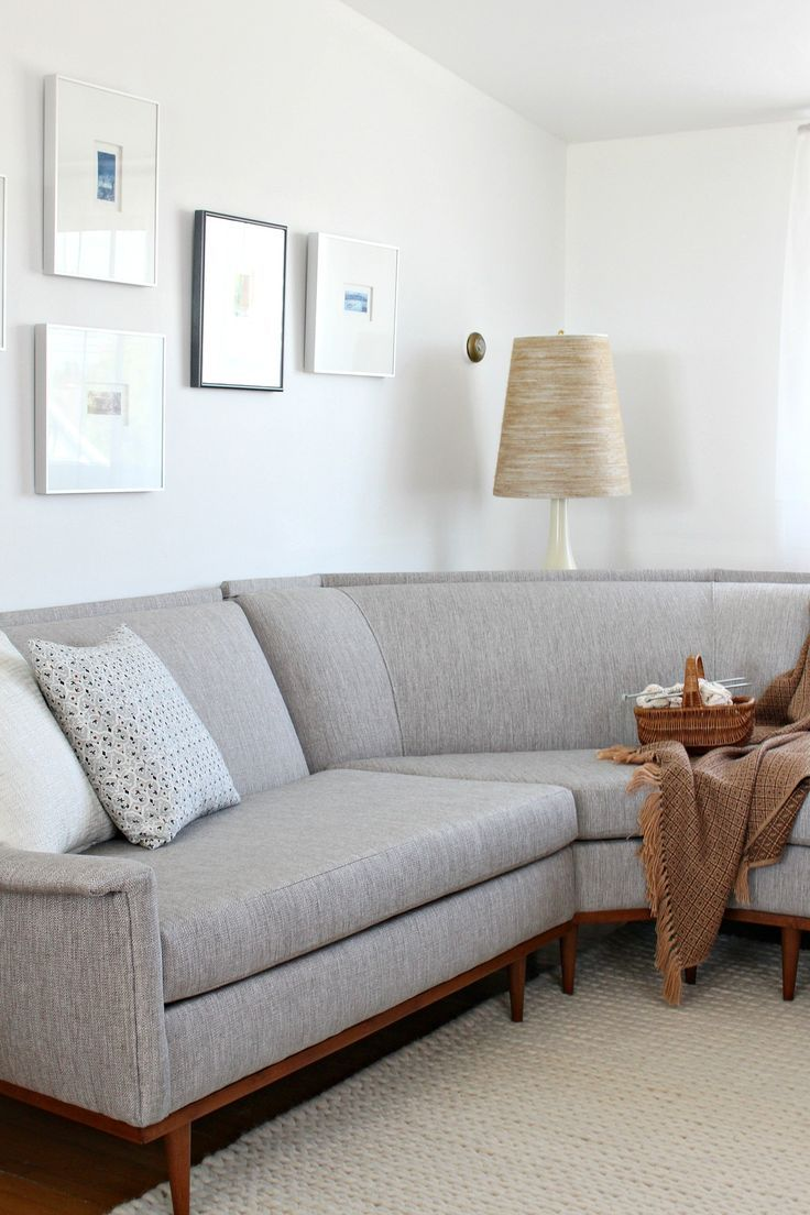Mid Century Modern Sectional Sofa Makeover Before And After Click Trough To Modern Sofa Sectional Modern Furniture Makeover Mid Century Modern Sectional Sofa
