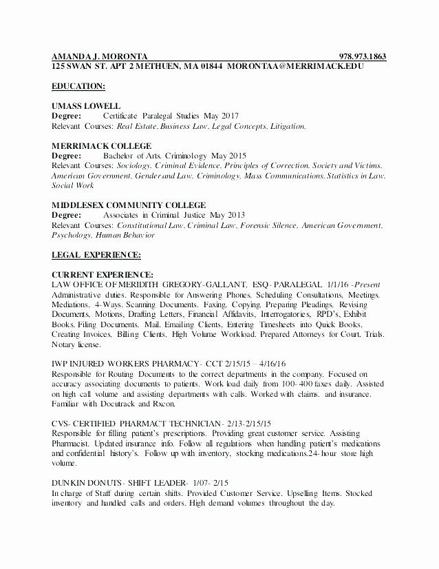 23 criminal justice resume examples in 2020  resume