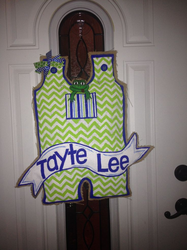 44 Best Images About Baby Door Hangers And Wreaths On Pinterest Personalized Baby Its A Boy