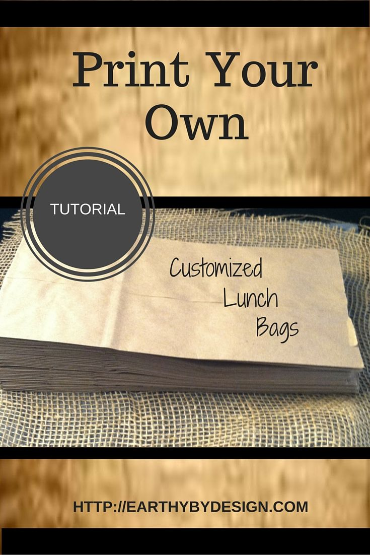 best ideas about make your own logo make own your logo would look great on your own bags out how easy tutorial that will save you money in packaging