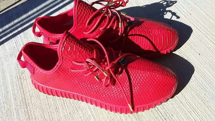 #Adidas #Red #Yeezy's #Dope #Af
