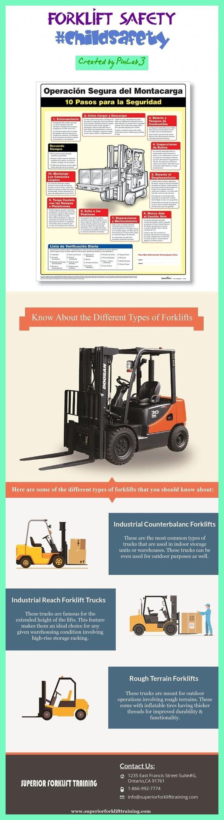 forklift safety in 2020 Safety slogans, Forklift safety