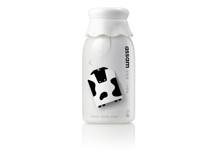 Assam Milk Tea on Packaging of the World - Creative Package Design Gallery