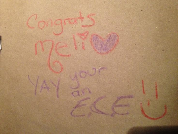 Got an ECE job!!