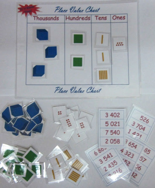 Using Place Value Printables! $ #math