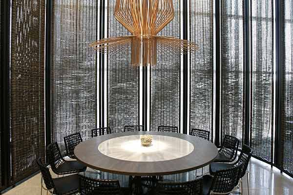 Gordon Ramsey....Maze Restaurant - Melbourne, Australia. I think this would make a great meeting room.
