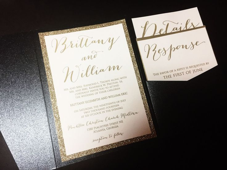 Red And Black Wedding Invitation Kits: Best 25+ Black And Gold Invitations Ideas On Pinterest